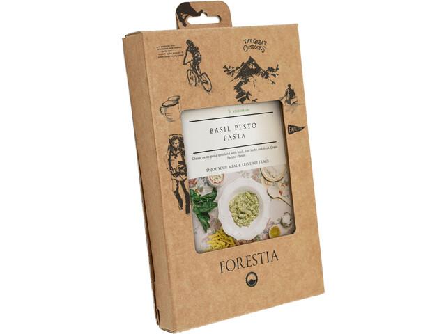 Forestia Heater Outdoor Ateria Vegetaari 350g, Basil Pesto Pasta